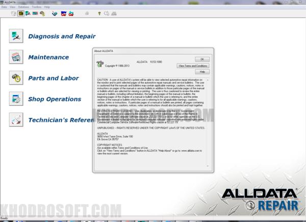 برنامه آل دیتا - All Data - راهنمای تعمیرات خودروها