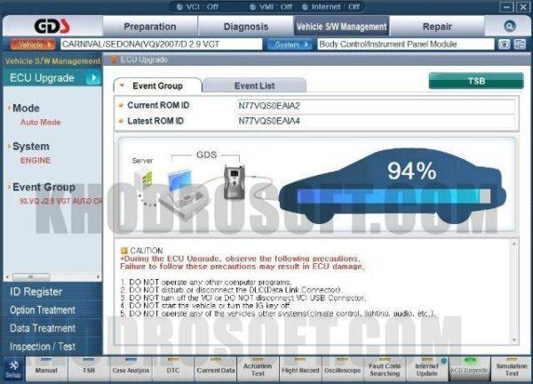 Hyundai GDS - راهنمای تعمیرات هیوندای