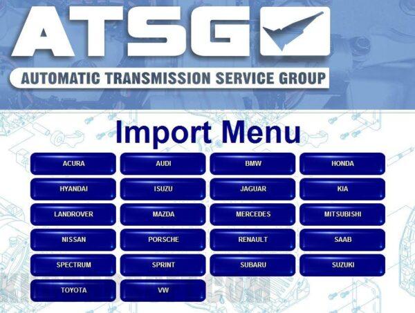 ATSG - راهنمای تعمیرات گیربکس های اتوماتیک