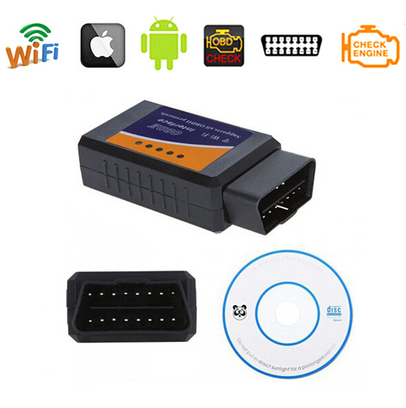 دیاگ ELM327 وای فای دیاگ اندروید دیاگ موبایل دیاگ بلوتوث دیاگ elm327 دیاگ اندروید – دیاگ موبایل – دستگاه دیاگ ELM327 ELM327 WIFI Scanner OBDII OBD2 Auto Diagnostic Scan Tool Support IOS Wifi and Android Windows