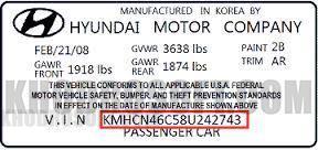 شماره شناسایی خودرو یا وین نامبر -VIN