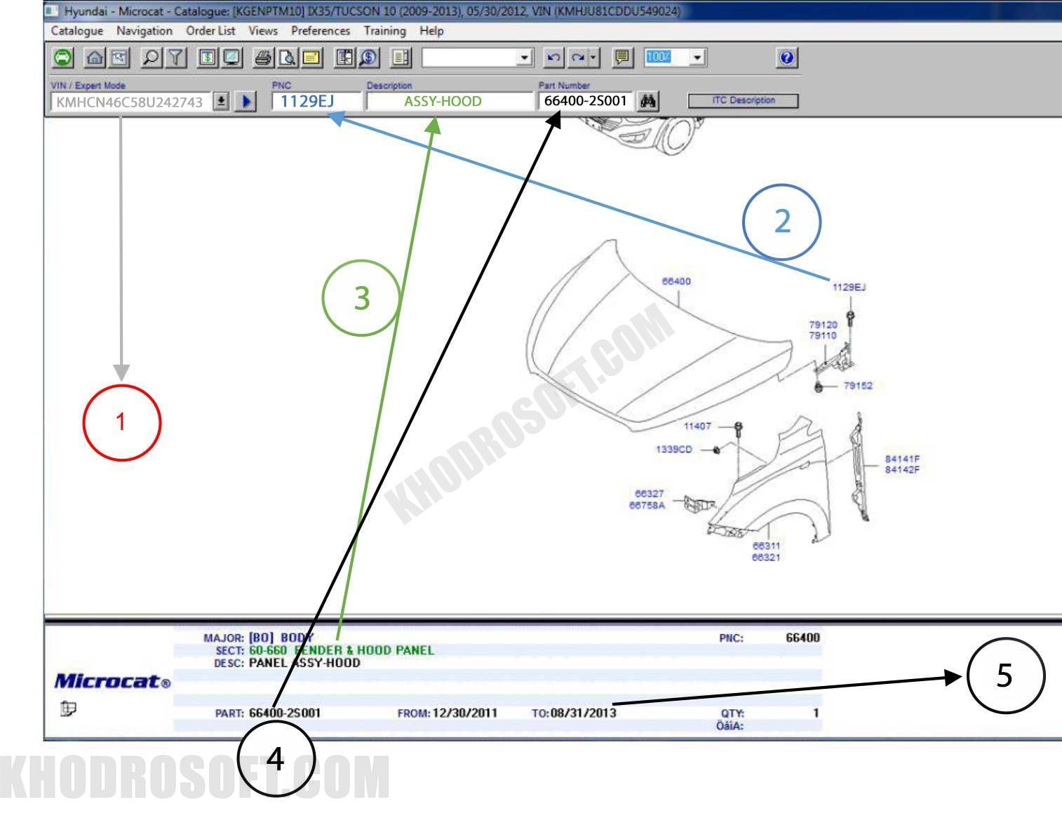 مایکروکت - بخش داخلی کاتالوگ شماره فنی راهنمای کار با نرم افزار مایکروکت راهنمای تصویری کار با نرم افزار مایکروکت part catalog 2