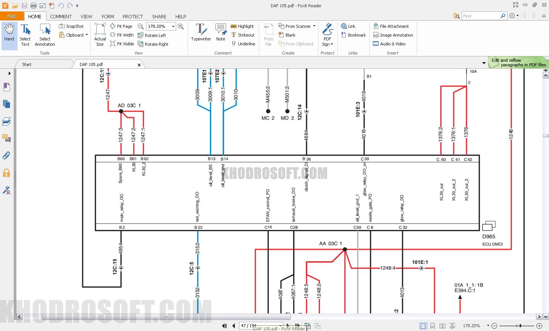 راهنمای تعمیرات داف راهنمای تعمیرات داف DAF TRUCKS WORKSHOP MANUALS Daf workshop manuals05