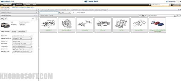 دسته بندی قطعات - مایکروکت v6