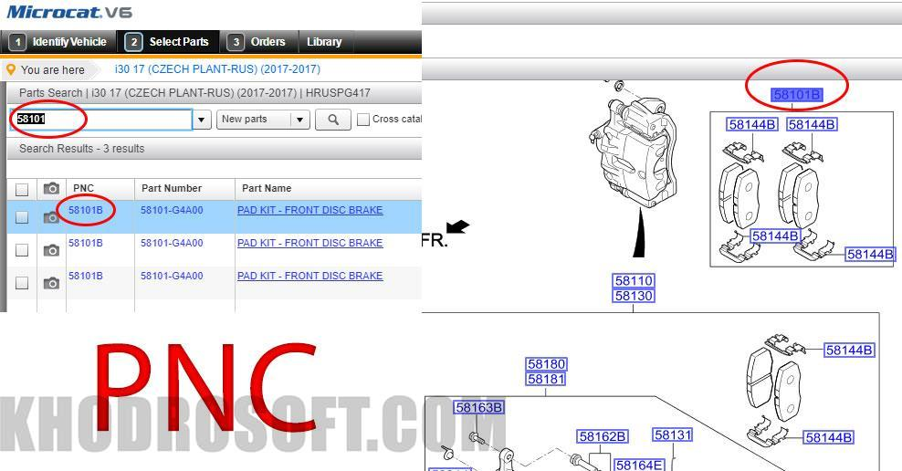 جستجوی PNC - PNC Search
