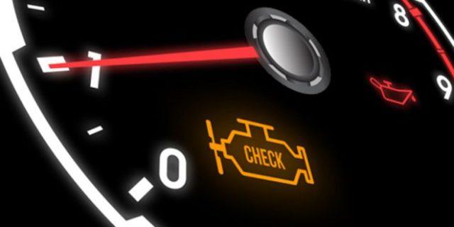 چراغ چک خودرو