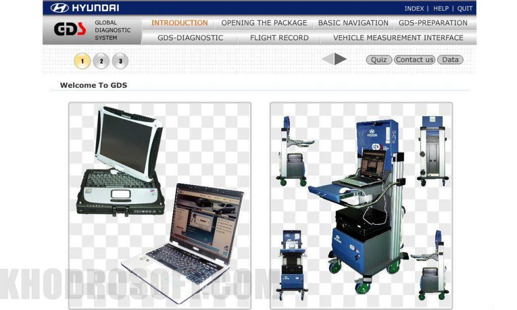 راهنمای استفاده از دستگاه دیاگ جی دی اس دیاگ gds دیاگ GDS – دیاگ جی دی اس – دیاگ هیوندای و کیا 22 Sep 28 Hyundai Global Diagnostic System Training 1 1024x614