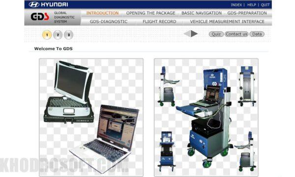 راهنمای استفاده از دستگاه دیاگ جی دی اس