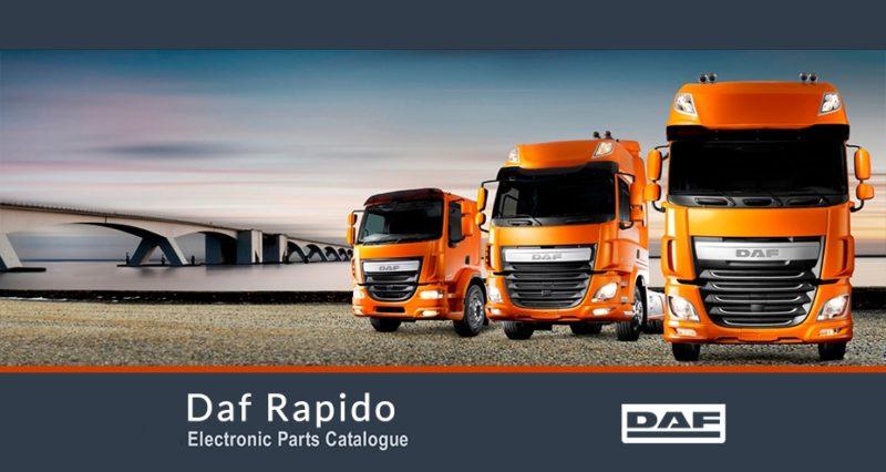 برنامه شماره فنی قطعات خودروهای داف Daf-Rapido-Main