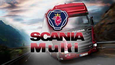 Photo of نرم افزار اسکانیا مولتی Scania Multi