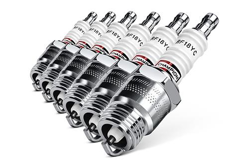 شمع خودرو روشن نشدن خودرو علل روشن نشدن خودرو هنگام صبح copper plus spark plug 6 set1