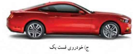 خودروهای فست بک انواع خودرو دسته بندی خودروهای سواریاز لحاظ شکل بدنه khodro 5 02