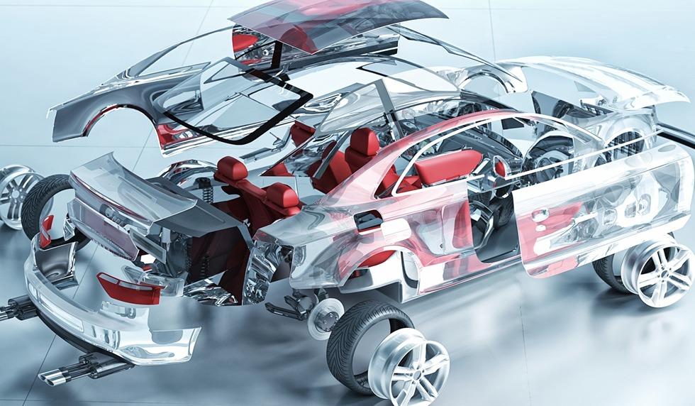 دسته بندی قطعات خودرو
