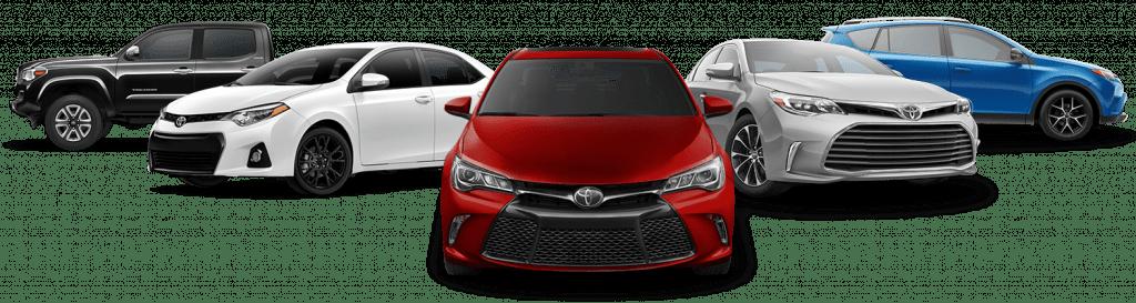 تجهیزات مختلف در تریمهای متنوع تیپ خودرو چیست تیپ خودرو یا تریم چیست و شامل چه چیزهاییست ؟ Toyota Lineup 1024x273