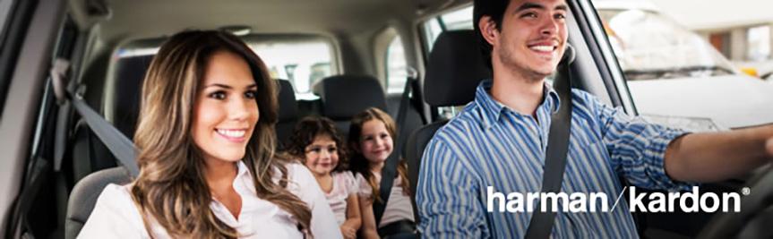 هارمن کاردن آرامش در خودرو هارمان کاردن معرفی هارمن کاردن ، تولید کننده سیستم های صوتی حرفه ای خودرو harmonkardon family in car
