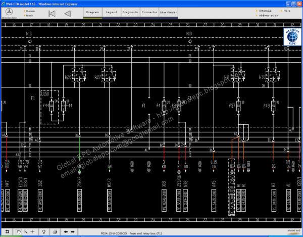 benz start finder screen shot 02