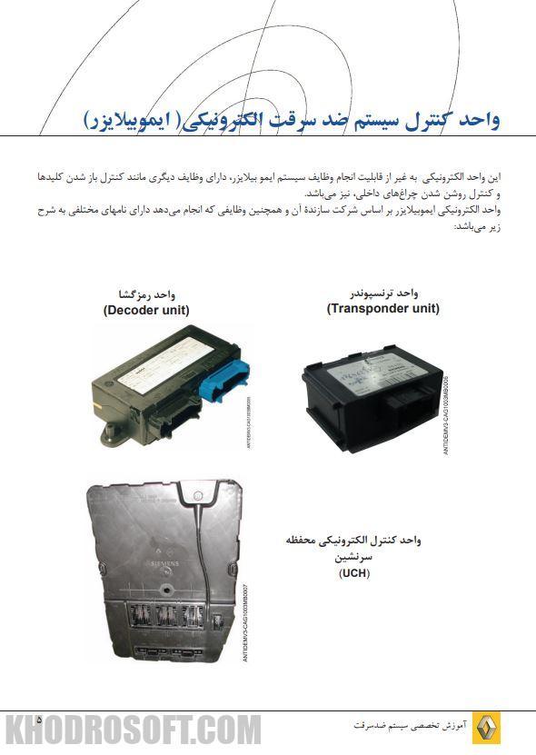 آموزش تخصصی سیستم ضد سرقت ماشین