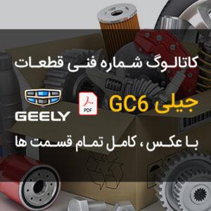 کاتالوگ شماره فنی قطعات جیلی GC6