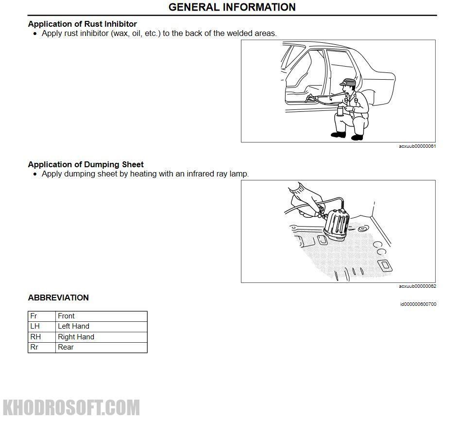پک راهنمای تعمیرات خودروی مزدا
