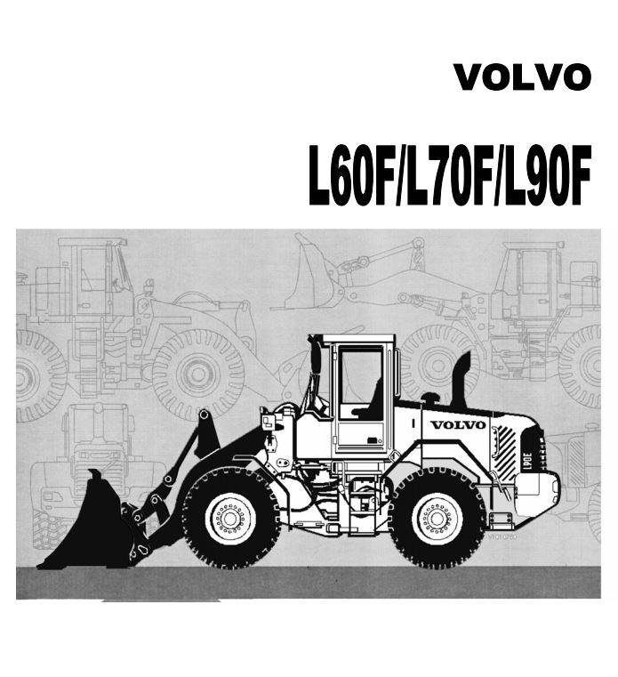 کتاب سرویس نگهداری و اپراتوری لودر ولوو مدل های L60F - L70F - L90F